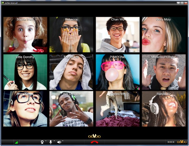 Oovoo – video conferinte intre 12 prieteni de pe Facebook