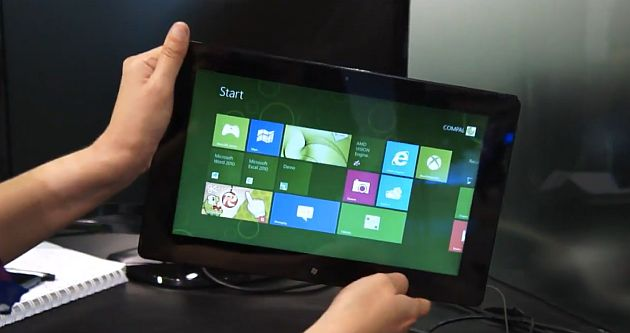 Computex 2012 – AMD dezvaluie prima tableta cu Trinity si Windows 8 [+VIDEO]