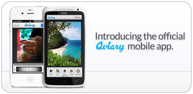 Aviary: aplicatie de promovare a unei aplicatii