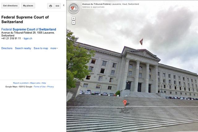 Elvetienii dicteaza noi reguli pentru Google Street View