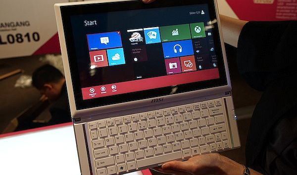Computex 2012 – MSI Slider S20, un alt hibrid intre tableta si ultrabook