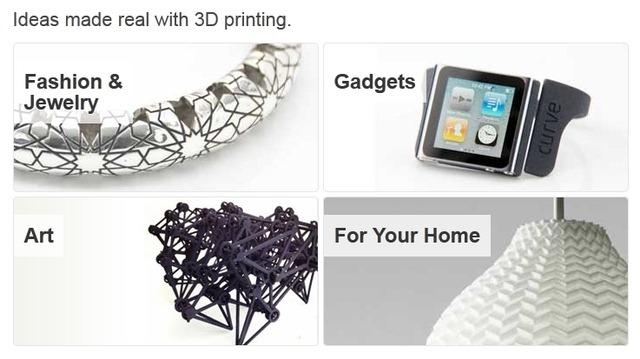Shapeways sarbatoreste – Printingul 4D functioneaza… la altii
