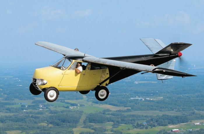 O masina zburatoare din 1954 este de vanzare