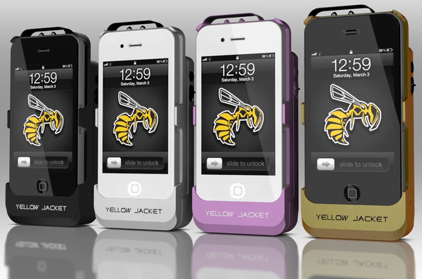 Yellow Jacket iti transforma iPhone-ul in arma de autoaparare [+VIDEO]