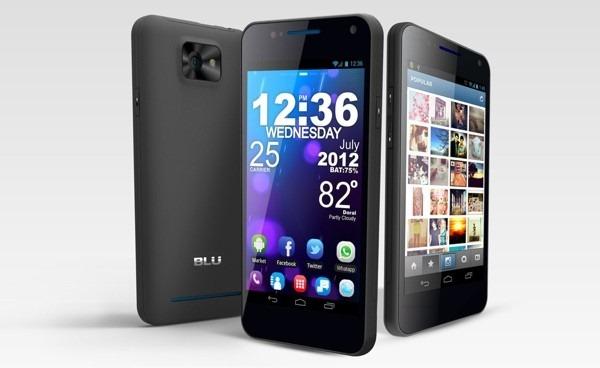 BLU lanseaza un smartphone dual-SIM cu Super AMOLED Plus