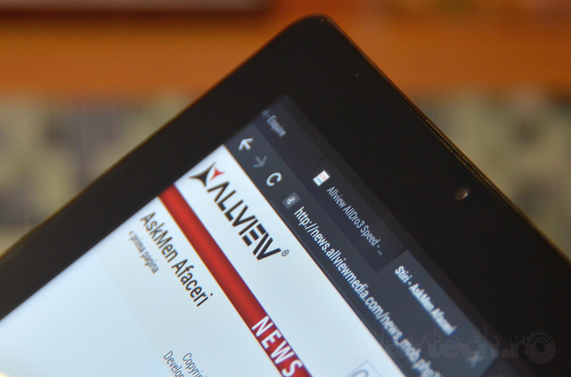 Allview lanseaza o noua serie de tablete cu Android
