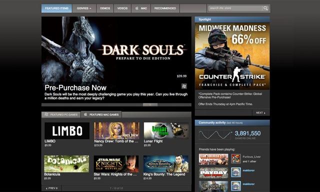 Valve se apuca sa vanda programe pe Steam
