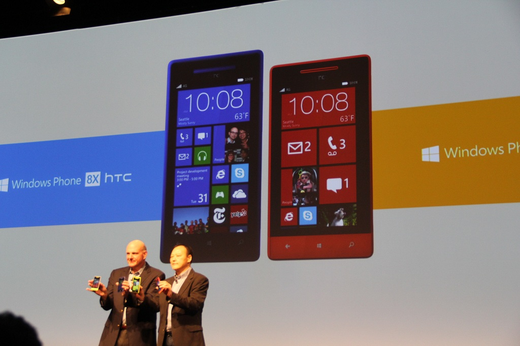 HTC anunta noi smartphoneuri Windows Phone 8