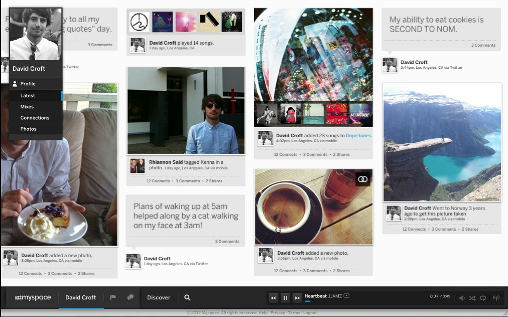 MySpace sufera o noua transformare majora [+VIDEO]