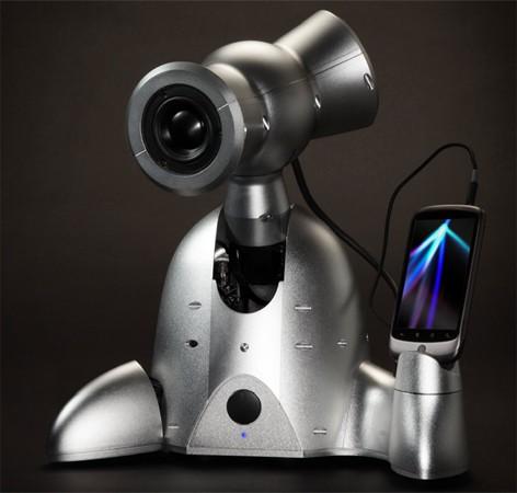 Shimi, robotul care te face sa dansezi dupa cum iti canta