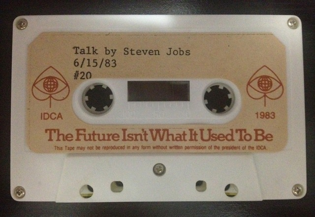Steve Jobs ne vorbeste despre viitorul gadget-urilor in 1983 [+AUDIO]