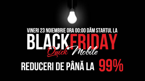Cum se desfasoara Black Friday la QuickMobile