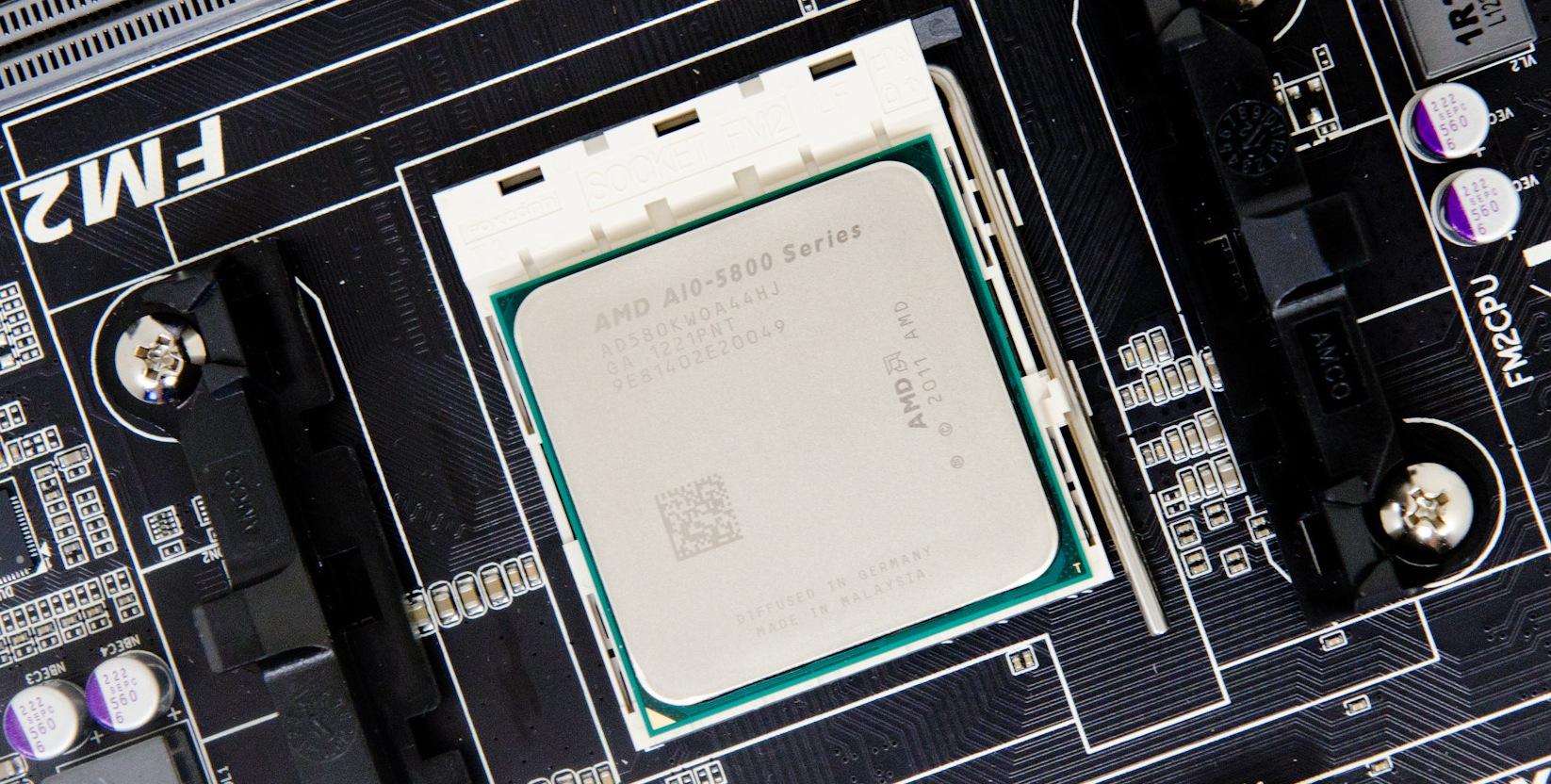 AMD A10-5800K doboara din nou recordul de overclocking cu 7,87 GHz