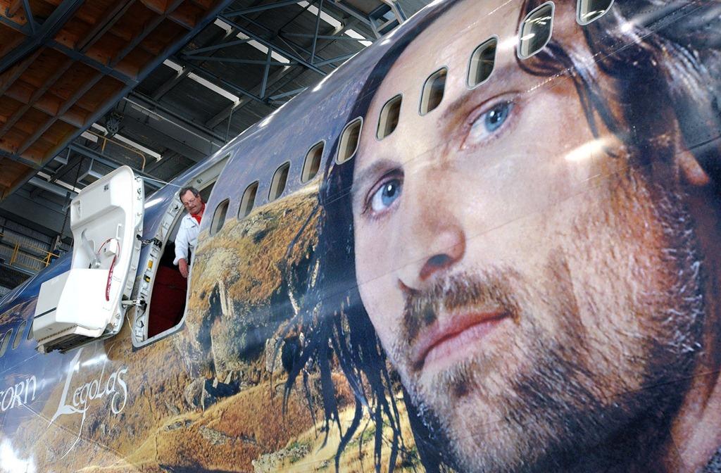 "Tehnologia din ""The Hobbit"" ajunge la Air New Zealand"
