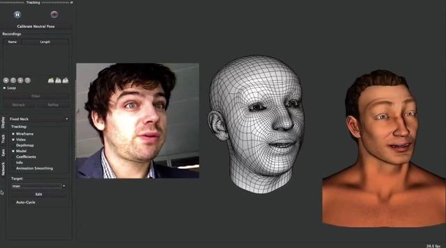 Faceshift, o noua aplicatie revolutionara bazata pe Microsoft Kinect