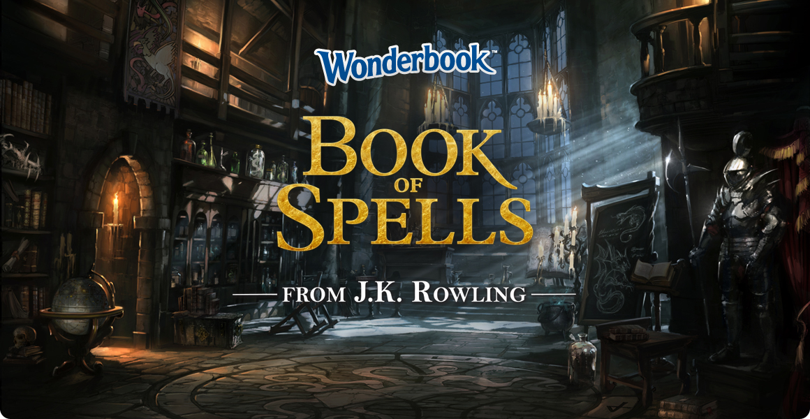 Wonderbook: Book of Spells pentru PlayStation 3 disponibil acum in limba romana