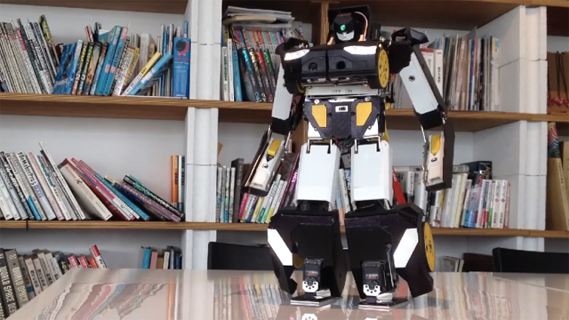 Brave Robotics ne uimeste cu un robot printat