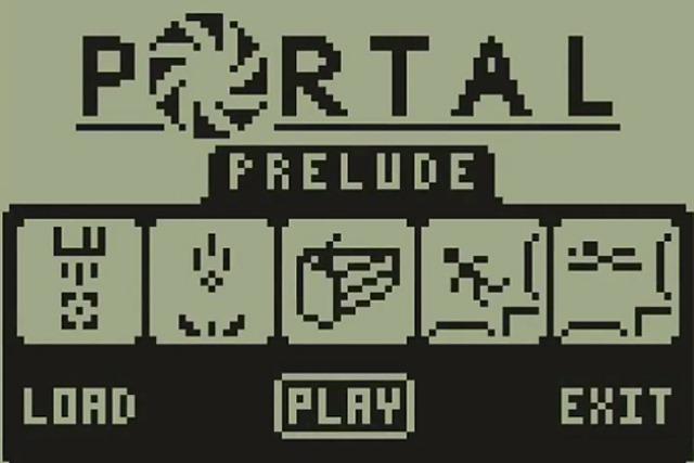 Jocul Portal ajunge pe un calculator de buzunar