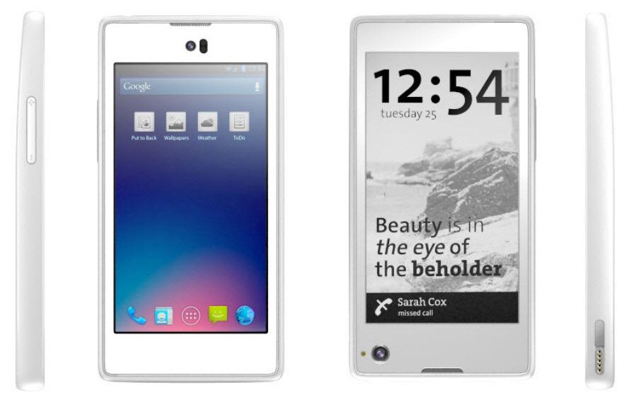 YotaPhone – Smartphone Android cu doua ecrane [+VIDEO]