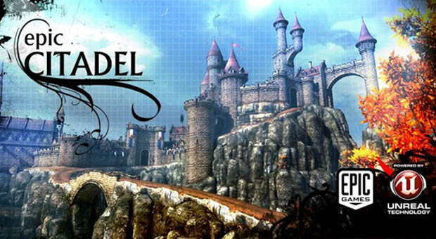 Epic Citadel ajunge pe Android si face reclama la Unreal Engine 3