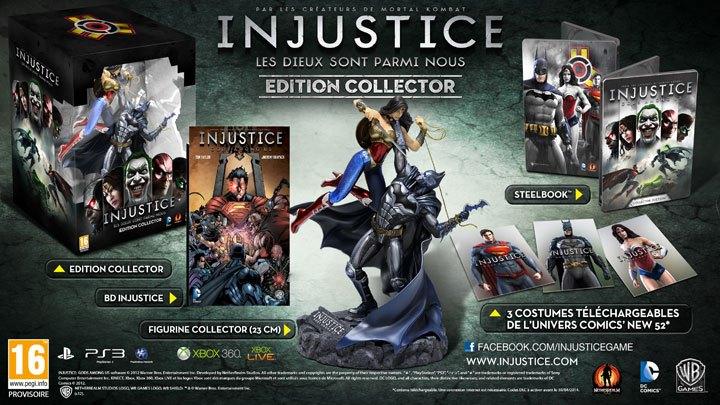 "Injustice: Gods Among Us si pentru ""colectionari"""
