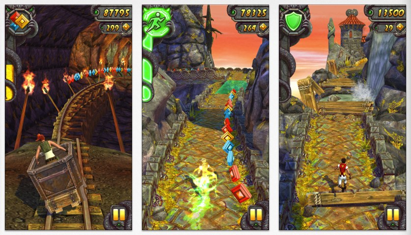 Temple Run 2 – Un nou joc care depaseste recorduri de popularitate pe iOS