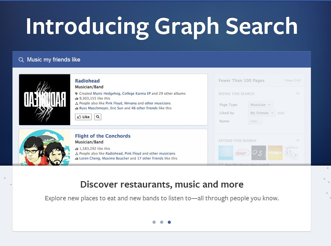 Facebook Graph Search – Sa fie oare o alternativa la Google?