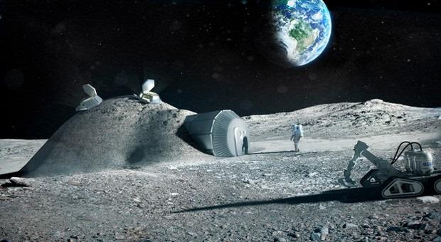 Casele pe Luna ar putea fi… imprimate 3D