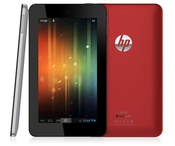 HP Slate 7, o tableta de buget cu Android Jelly Bean