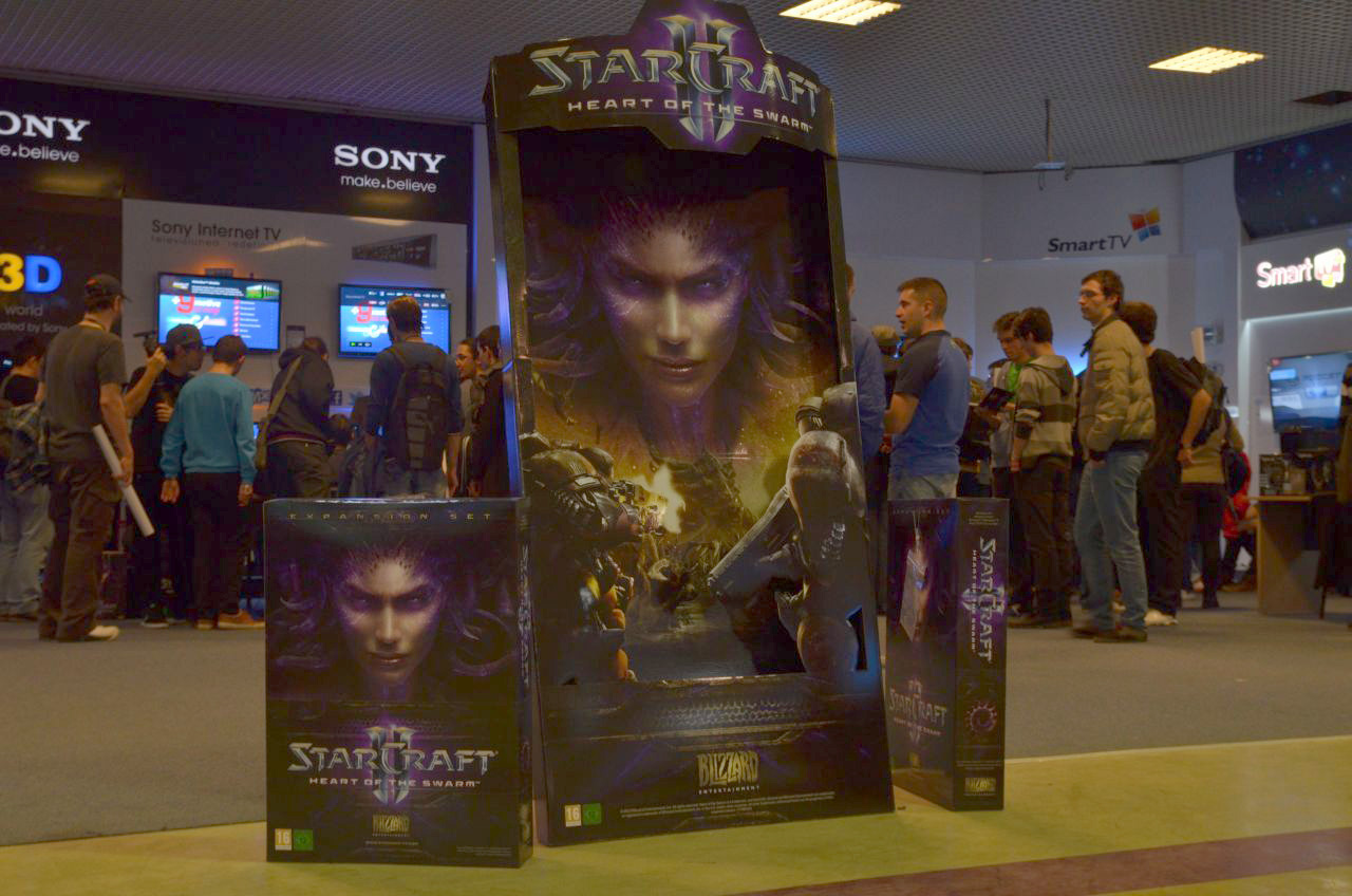 StarCraft II: Heart of the Swarm disponibil in magazine