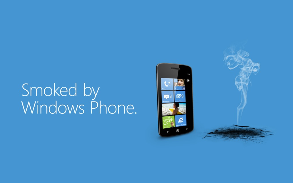 Noua campanie Smoked by Windows Phone ataca Galaxy S III