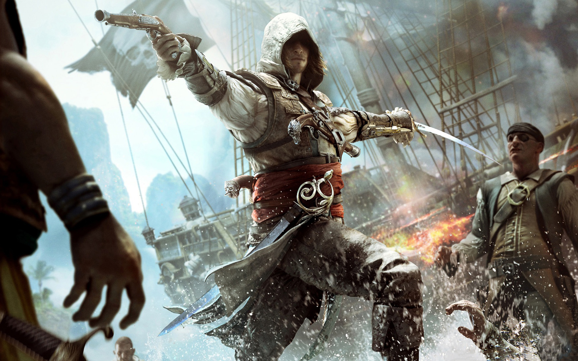 Assassin's Creed IV: Black Flag – First Gameplay