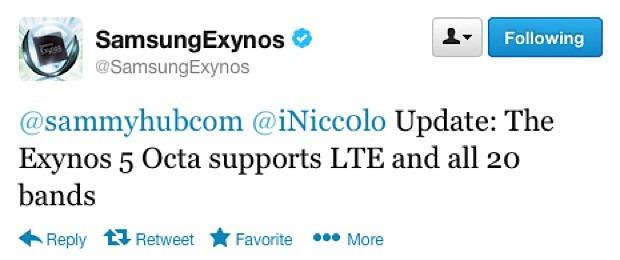 SOC-ul Octa-core Exynos 5 de la Samsung a invatat LTE