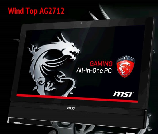 AG 2712 de la MSI este primul All-in-one de 27 inci creat pentru gaming