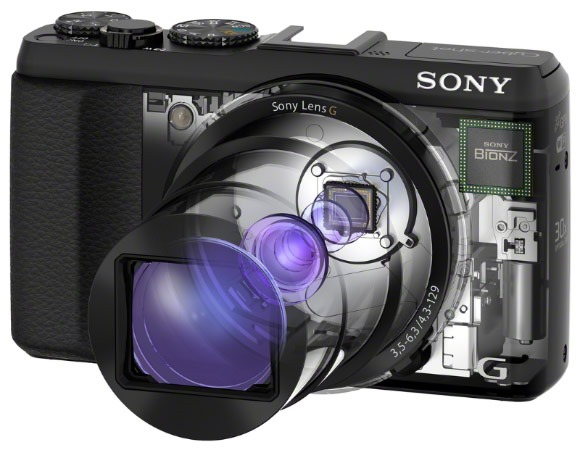 Sony anunta Cyber-shot HX50V – O compacta cu zoom optic de invidiat