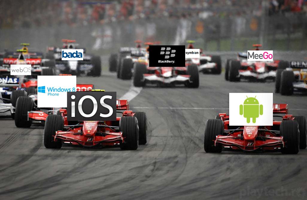O viziune asupra popularitatii sistemelor de operare pentru mobile