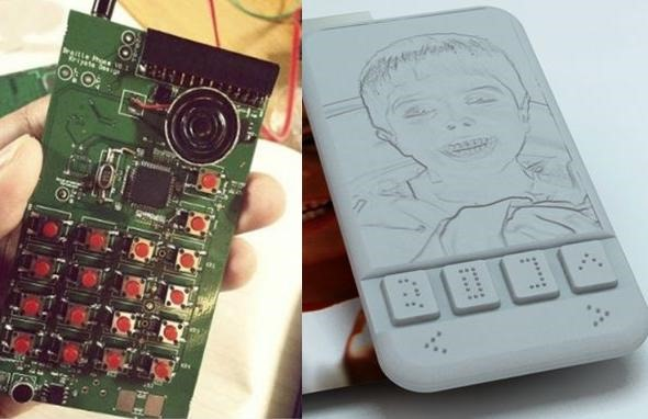 Indienii au creat un smartphone compatibil Braille