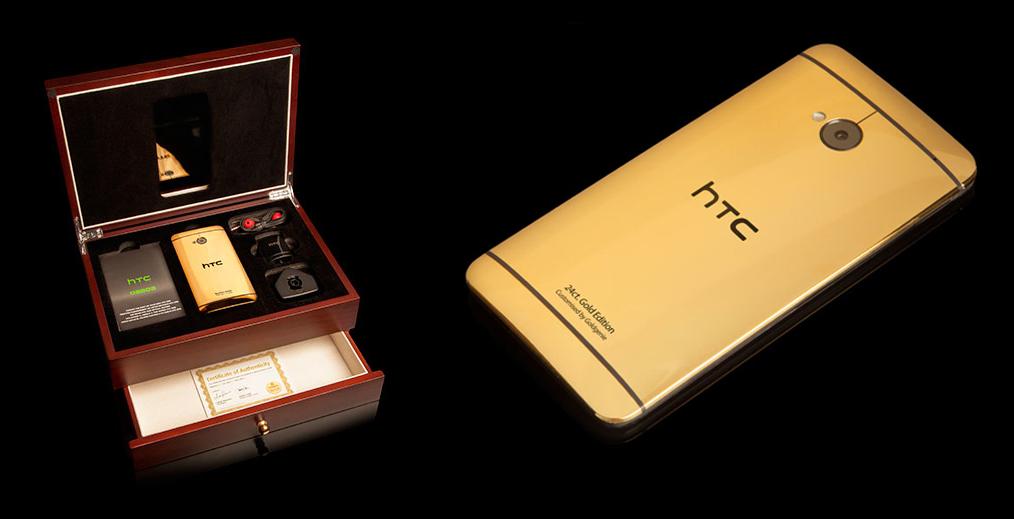 HTC One trece la aur si platina