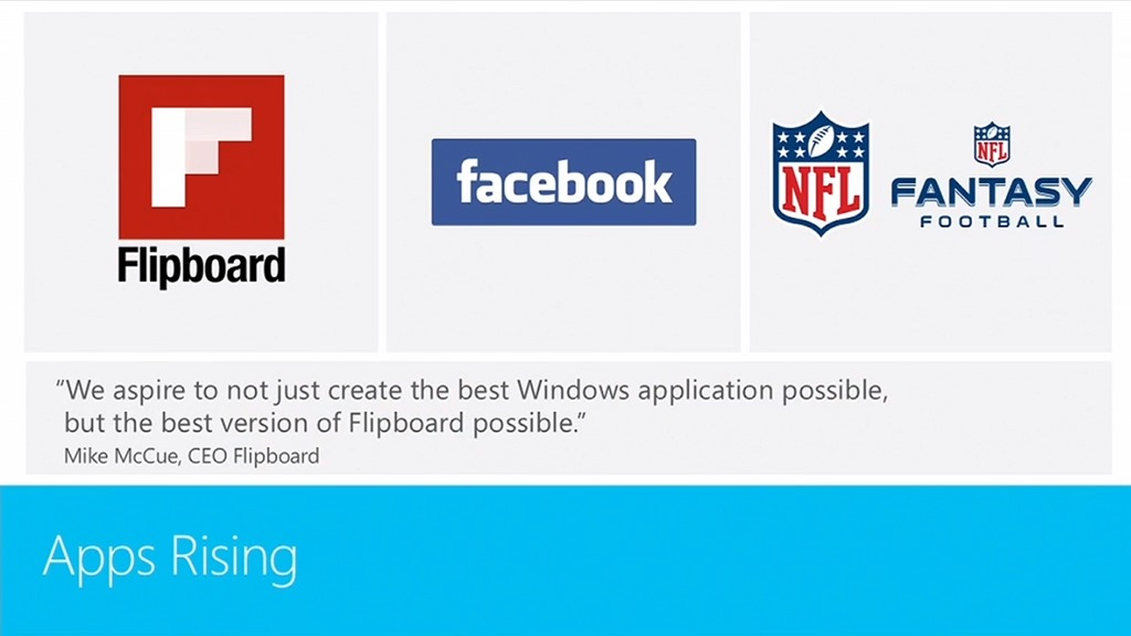 Facebook si Flipboard ajung pe Windows 8 ca aplicatii oficiale