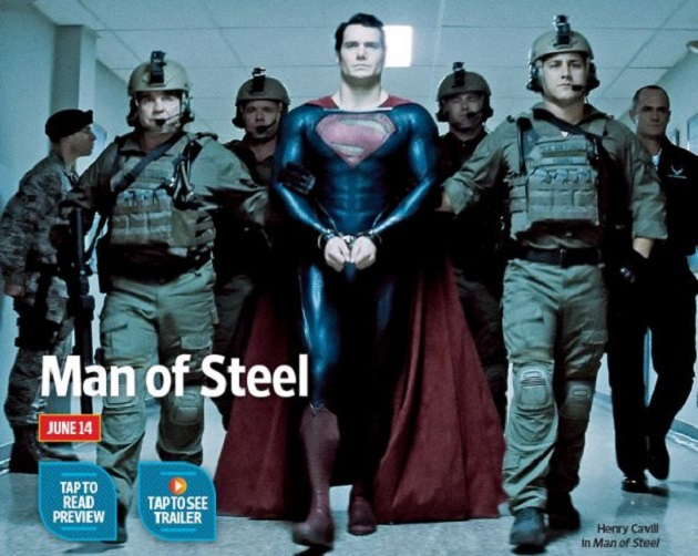 Man Of Steel, disponibil din 14 iunie, are trailer oficial