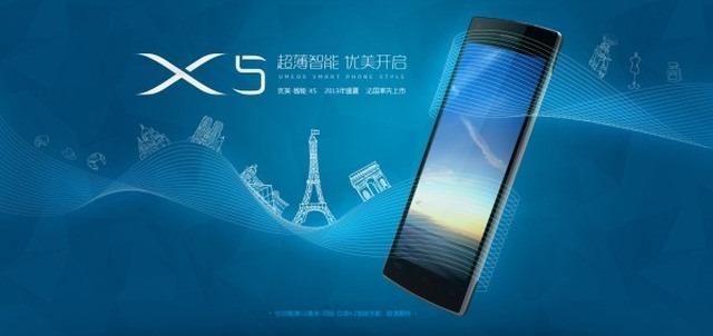 Umeox X5 este un nou pretendent la titlul de cel mai subtire smartphone