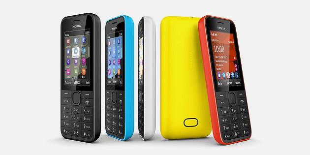 Nokia a lansat noi telefoane: 207, 208 si 208 Dual SIM