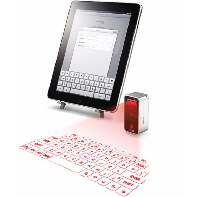 Cube Laser Virtual Keyboard, tastatura virtuala pentru mobile