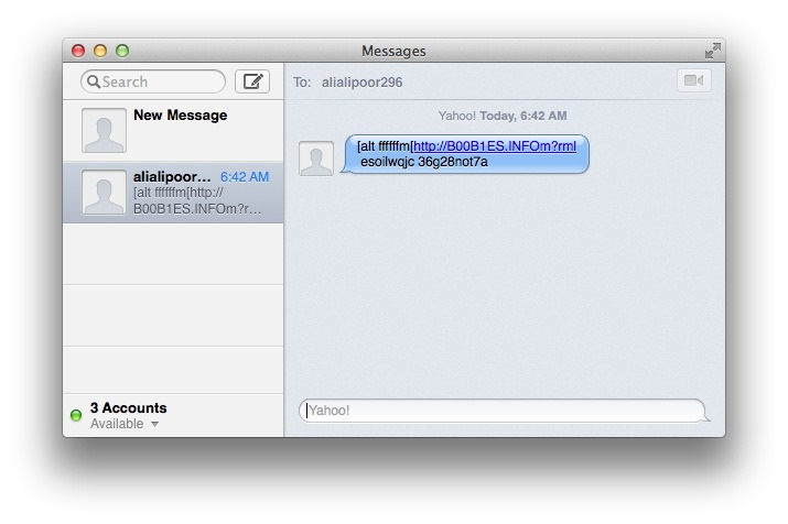 Apple se complica in raportarea mesajelor spam pe iMessage