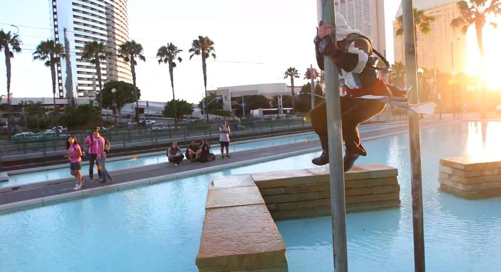 Senzatii tari in format parkour pentru promovarea Assassin's Creed 4 [VIDEO]
