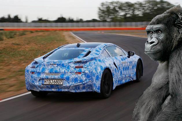 BMW i8: Si masinile trec la Gorilla Glass