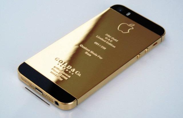 Exista iPhone 5S si din aur masiv, nu doar auriu