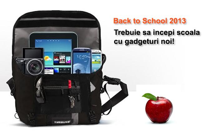 Back to School 2013 – Trebuie sa incepi scoala cu gadgeturi noi!