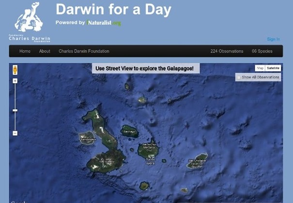 Darwin for a Day: Explorare si cercetare prin Google Street View [+VIDEO]