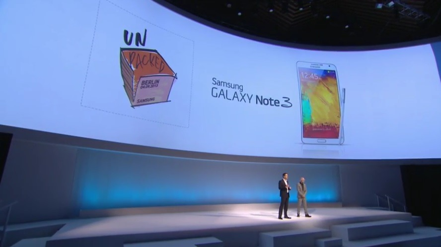 Samsung la IFA 2013: Galaxy Note 3, Galaxy Gear si noul Galaxy Note 10.1 [VIDEO]